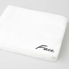 Face/Body Embroidered Bath Sheet