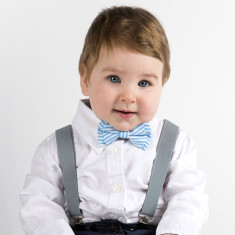 Mr Jackson baby and toddler bowtie and suspender set