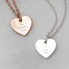 My beautiful mum message necklace