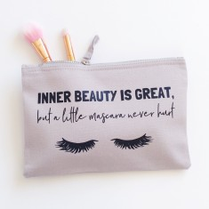 Inner beauty & mascara makeup bag