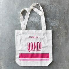 Bondi canvas tote bag