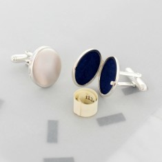 Personalised Locket Cufflinks