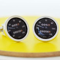 Personalised Speedometer Cufflinks