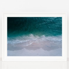 Azure Beach Photography Print