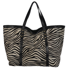 Large Togo cow hair tote (various prints)