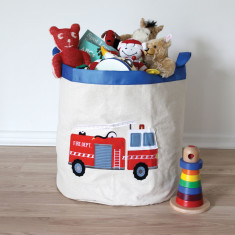 Fire engine storage hamper