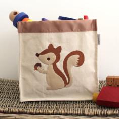 Squirrel storage hamper