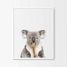 Baby Koala Nursery Art Print