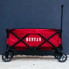 Personalised Buddy Wagon folding trolley cart