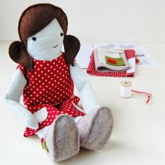 Make Your Own Festive Doll Dress Kit