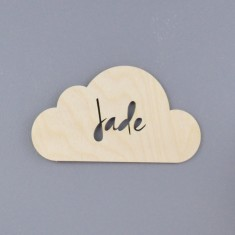 Personalised Cloud Nursery Door Sign