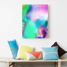 Liquid Abstract Canvas Art