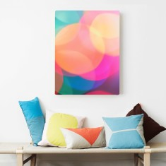 Wonderwall colourful abstract canvas