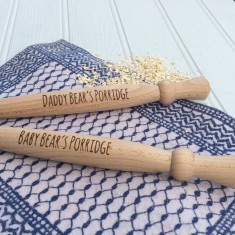 Personalised Porridge Stirrer Spurtle