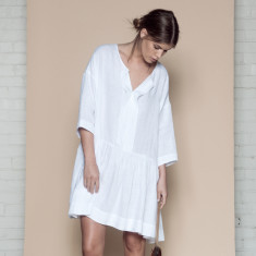 Marga linen dress