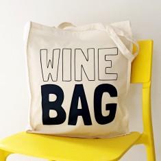 Wine bag tote bag