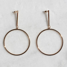 Alice earrings in gold
