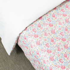 Liberty Print Duvet Cover In Felicite