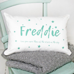 Personalised Star Name Cushion