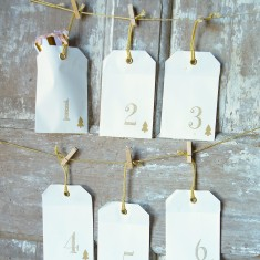Envelope and Peg Advent Calendar