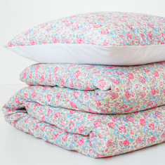 Liberty Print Duvet Set In Felicite