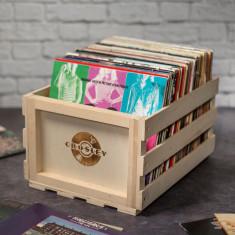 Crosley Vinyl Record Storage Crates (2 + 1 FREE)