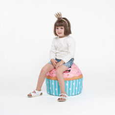 Woouf Bean Bag Cover - Kids Cupcake