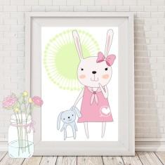 Coco bunny rabbit print