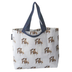 Shopper bag in Maku bear print