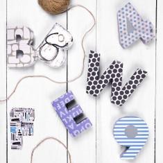 Alphabet Shaped Gift Box