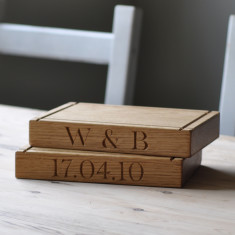 Personalised Small Oak Chopping Board