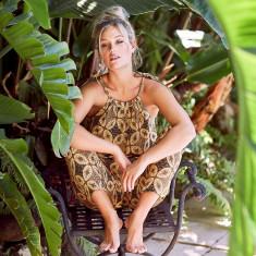 Papua batik paperbag pant