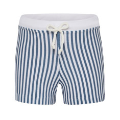 Euro shorts in navy stripe