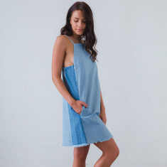 January denim dress
