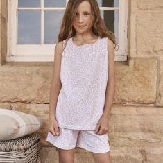 Girl s Summer Leopard Pyjamas. by Hickory Hill da20c1255