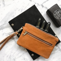 Sophia Small Leather Pouch (5 colours)