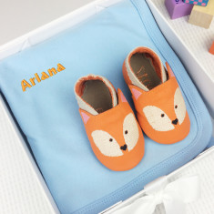 Personalised baby gifts personalised gifts gifts hardtofind personalised fox gift set negle Gallery