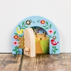 Personalised secret meadow fairy door (various colours)