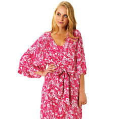 Pink hope tulip robe
