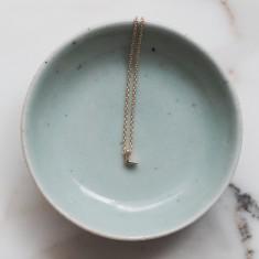 Love letters necklace 18k gold vermeil