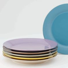 Yedi Sienna cake plates (set of 6)