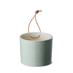 Anne Black grow wall flower pot in jade