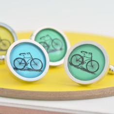 My Best Bicycle Cufflinks