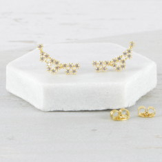 Sparkling Star Constellation Earrings