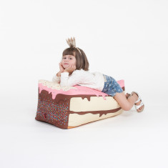 Woouf Bean Bag Cover - Kids Cake