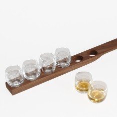 Willi's board set of 6 shot glasses