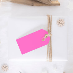 Coloured paper gift tags (set of 10)