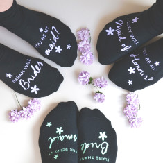 Be My Bridesmaid? Personalised Socks
