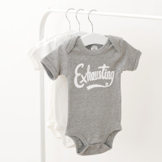 Exhausting Baby Bodysuit