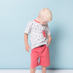 Nautical boys' PJs